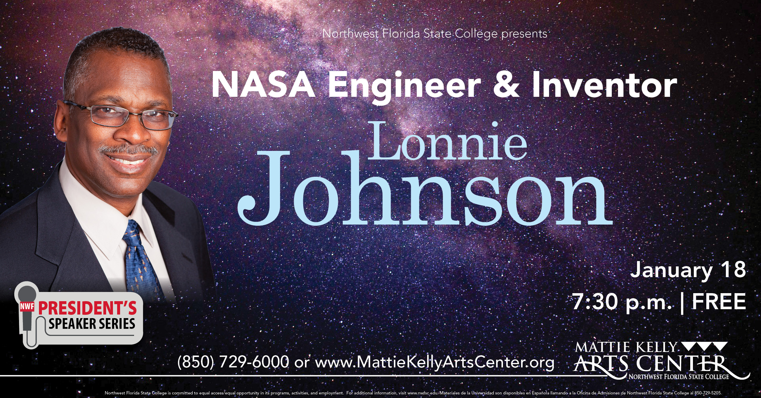 NASA Engineer & Inventor Lonnie Johnson