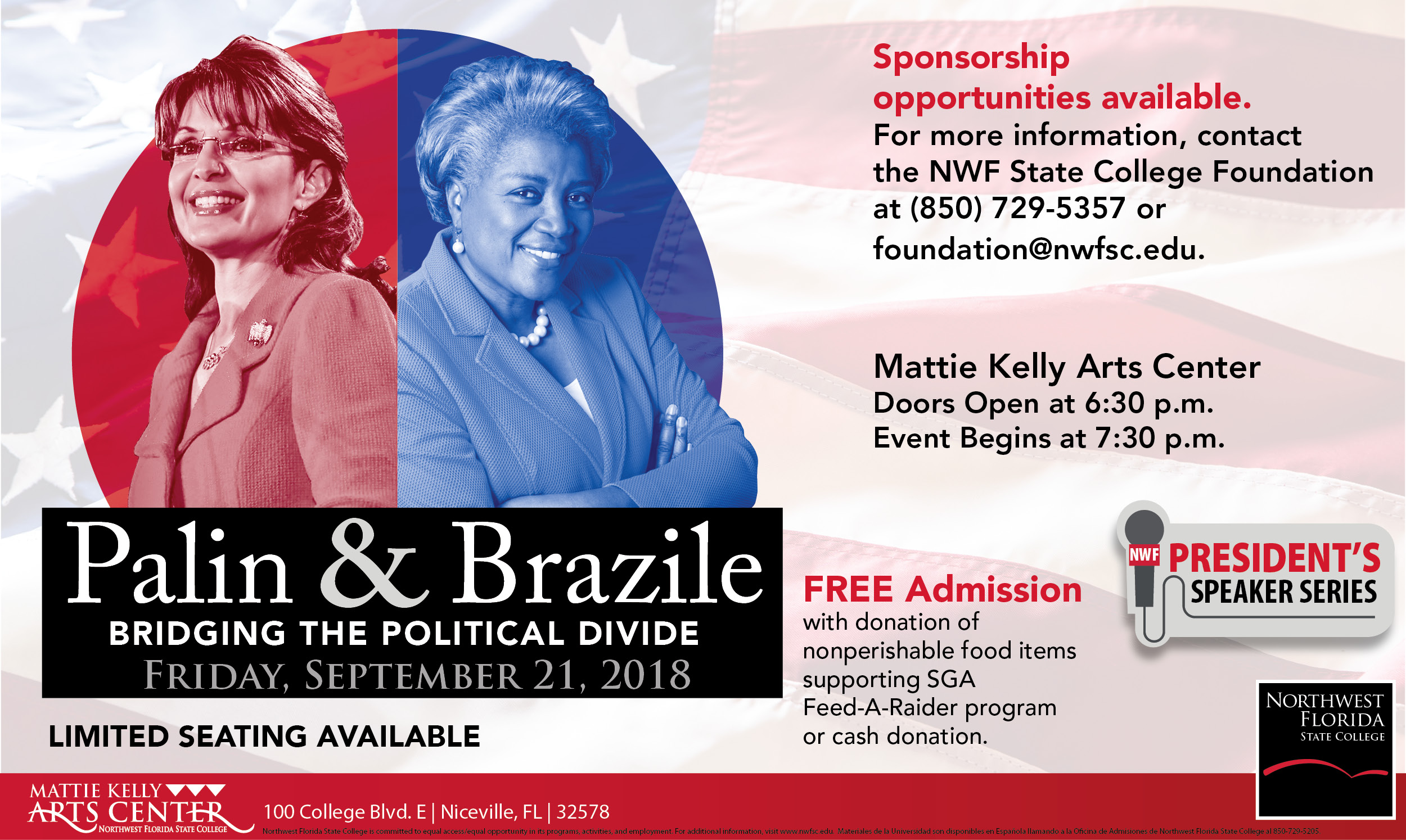 "Sarah Palin & Donna Brazile, ""Bridging the Political Divide"""