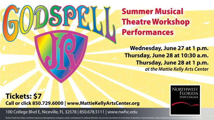 Godspell Summer Musical Theatre Workshop Performances