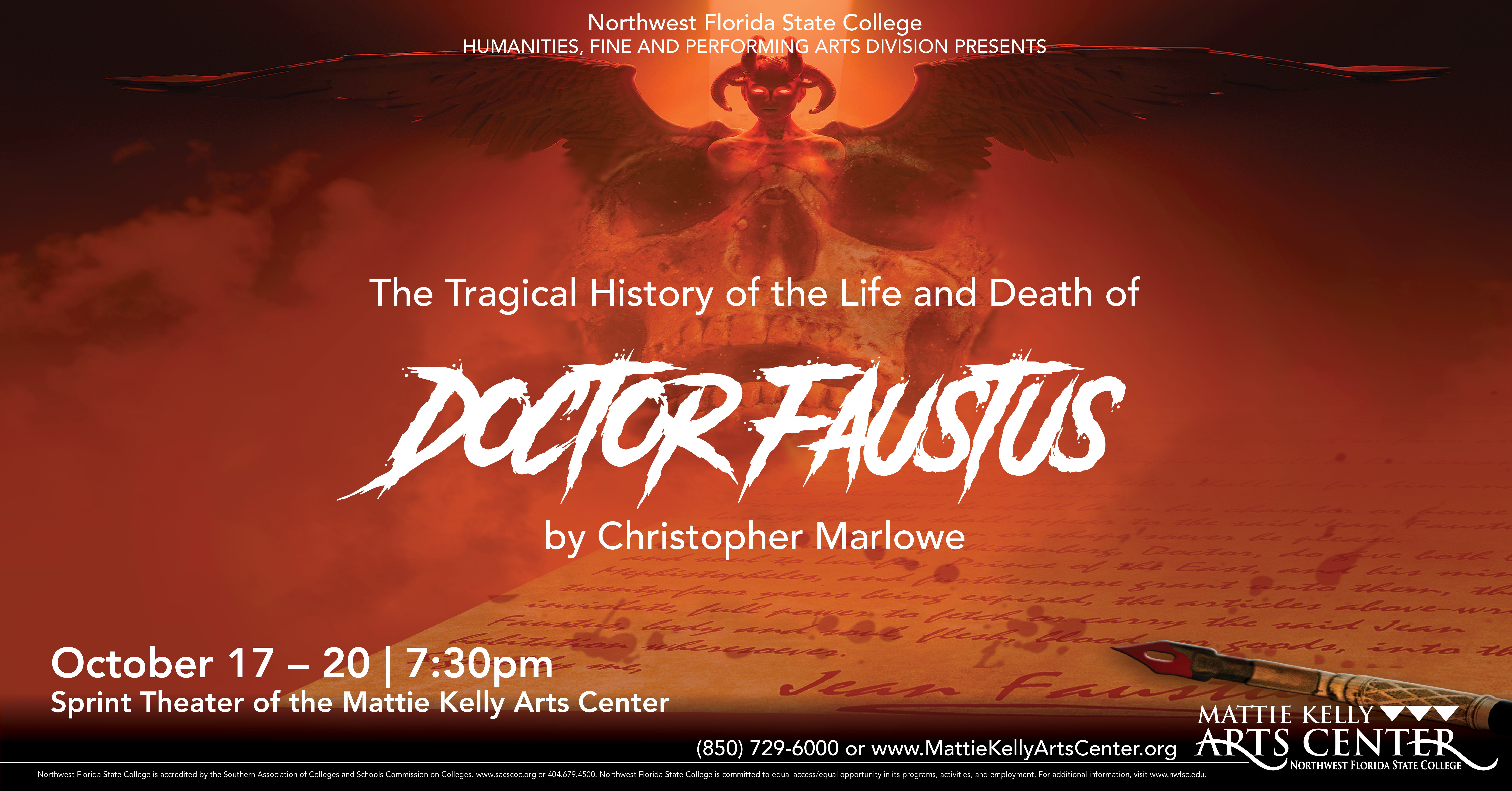 NWF State College Productions: Doctor Faustus