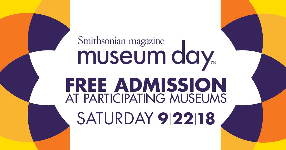 Smithsonian Magazine's Museum Day 2018
