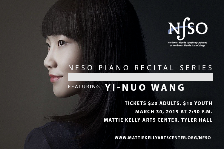 Featured Pianist Yi-Nuo Wang Will Perform at the NFSO Piano Recital Series