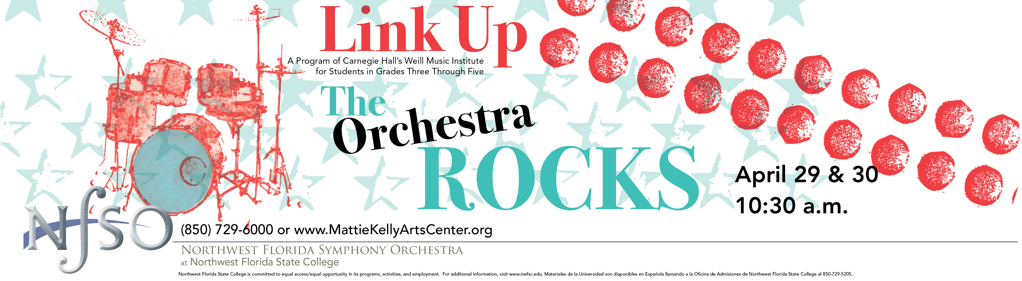 NFSO Orchestra Rocks | April 29 and 30