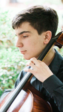 William Taylor, Concerto Competition Winner (Cellist, Senior Division)